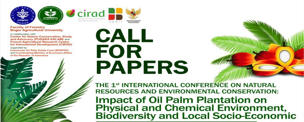 The 1st International Conference on Natural Resources and Environmental Conservation